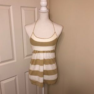Gap Striped Halter Top with Tie, Size Small